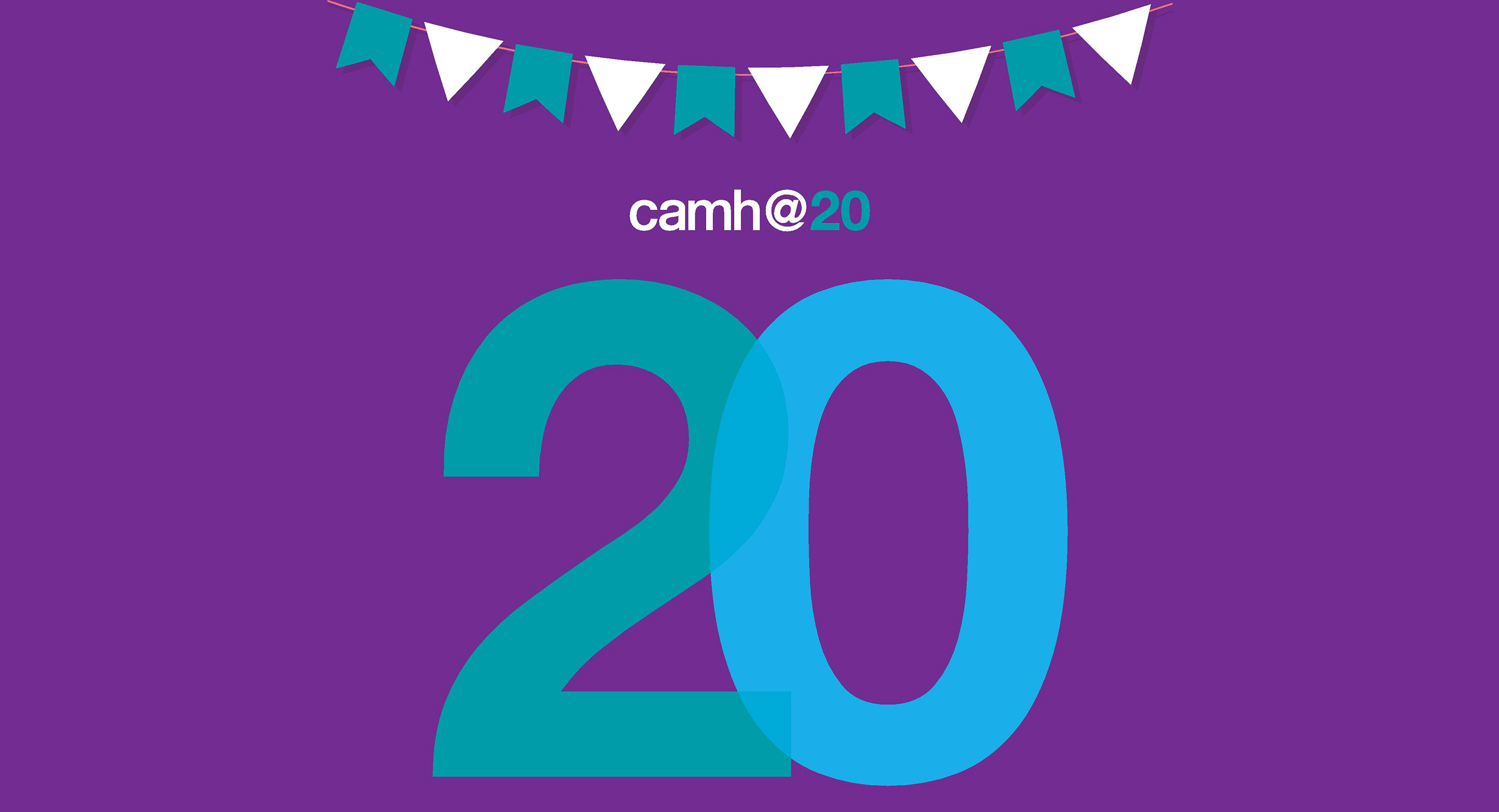 CAMH turns 20 graphic