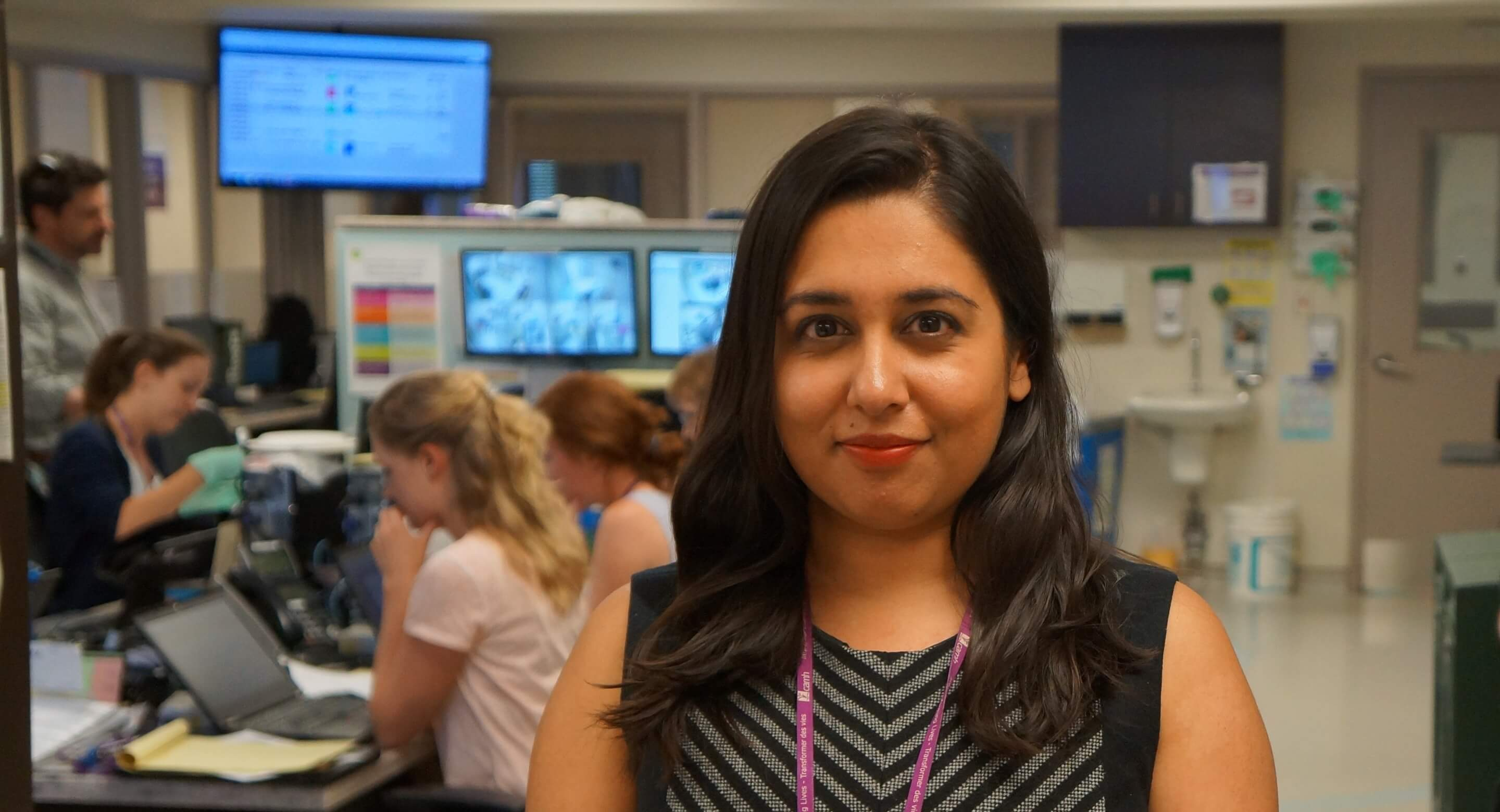 Dr. Juveria Zaheer in CAMH's ER