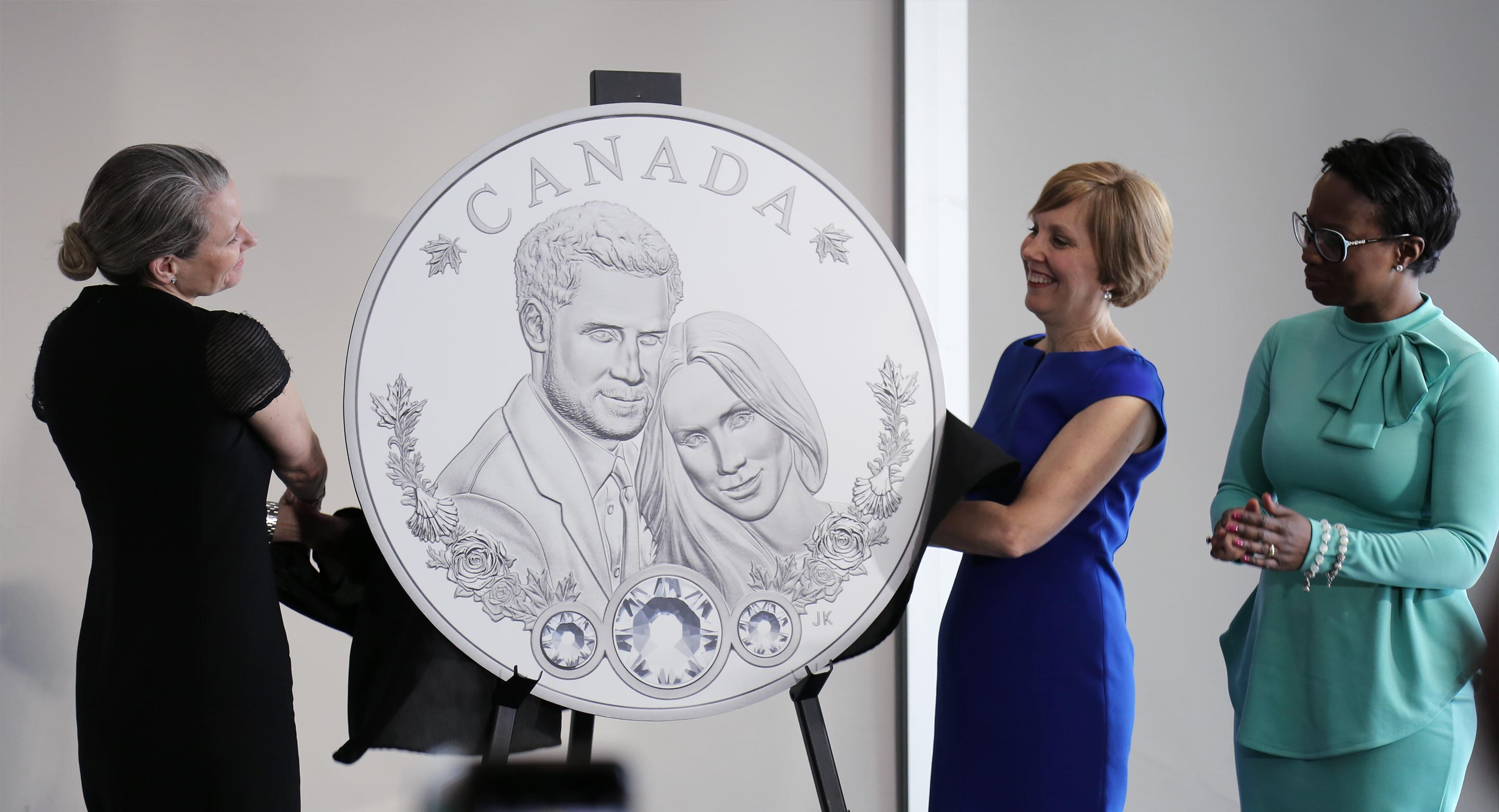 Unveiling of Prince Harry coin at CAMH