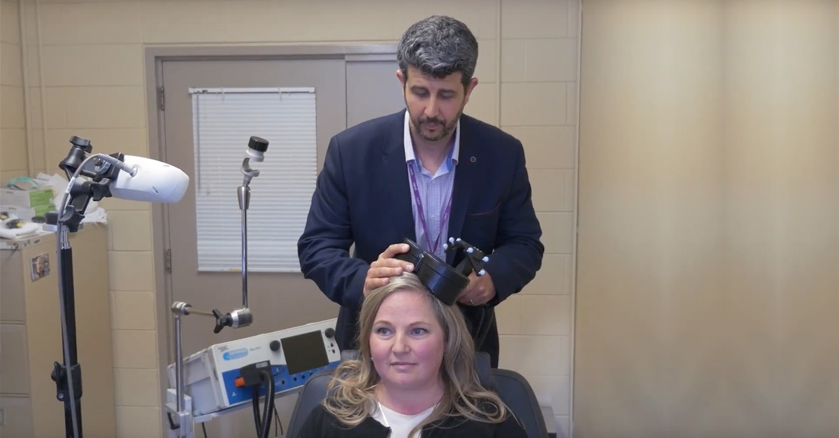 Three-minute version of brain stimulation therapy effective