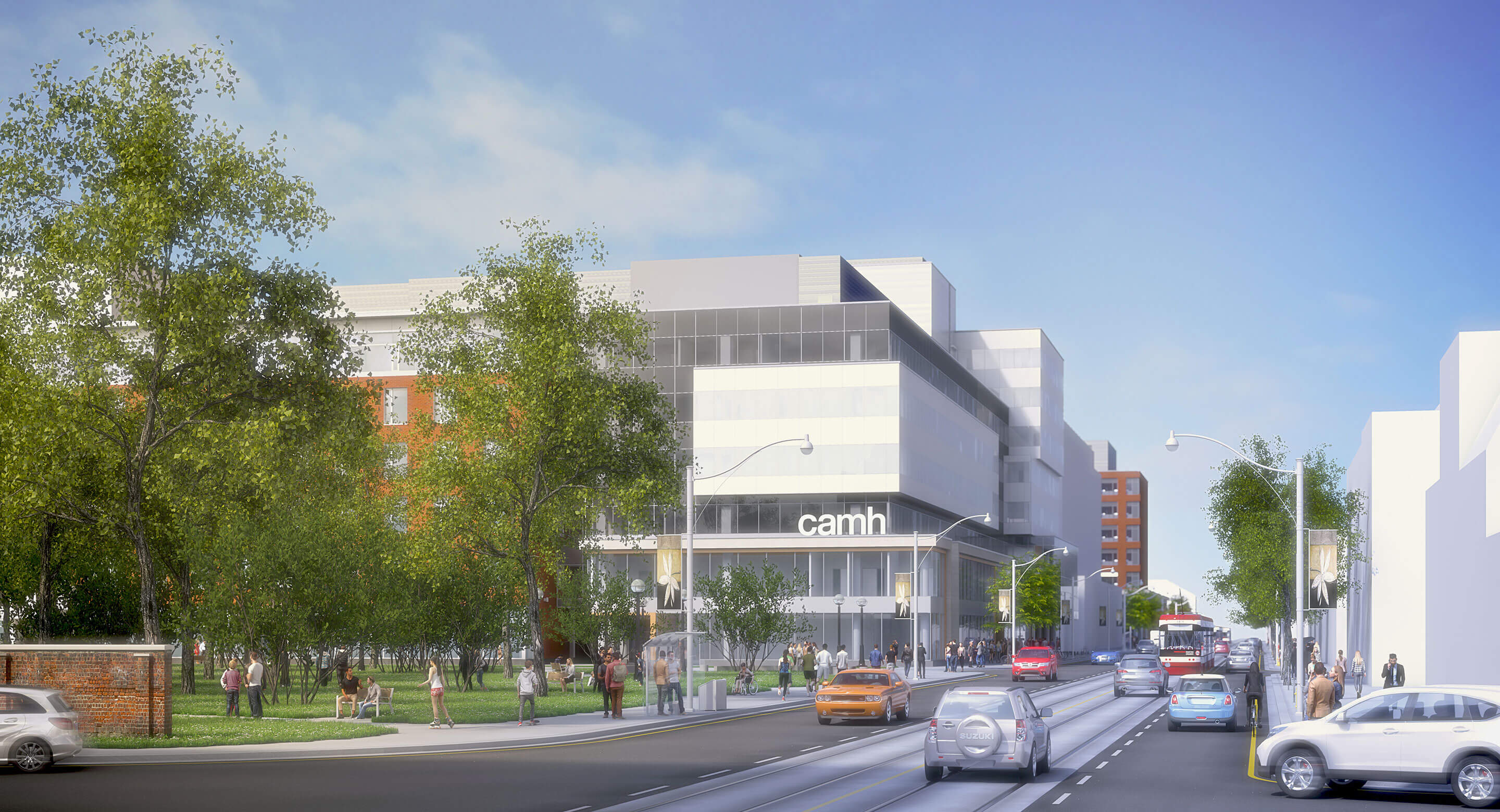 Render of Phase 1C building